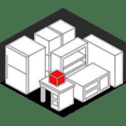 shelves storage icon